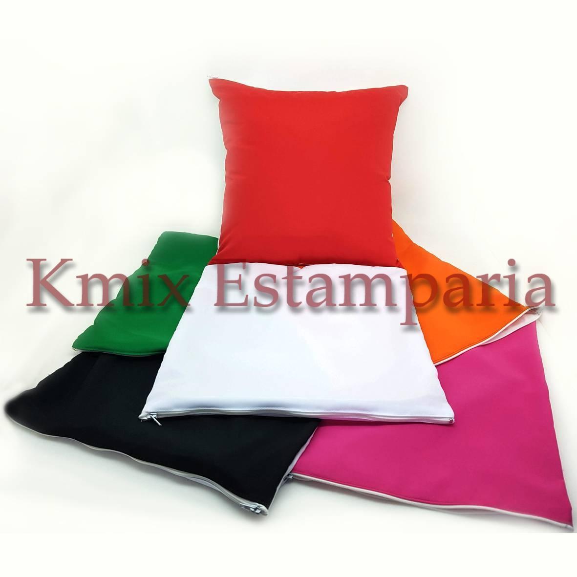 Capas 30x30 cm para sublimação com ziper (pedido minimo 10 peças)