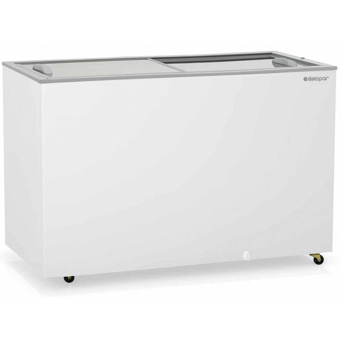 Freezer Gelopar GHDE-410 Vidro Deslizante 340 Litros