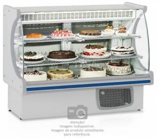 Balcão frigorífico confeitaria versátil padaria - GEPV-075BR