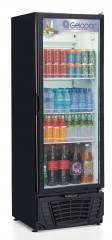 Expositor de bebidas Vertical Gelopar GPTU 40 Preto - 414lts