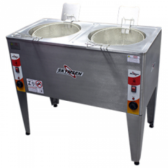 Fritadeira Elétrica Água e Óleo Industrial FRP-24D
