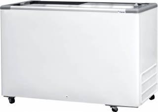Freezer Horizontal Fricon HCEB 411 tampa de vidro deslizante