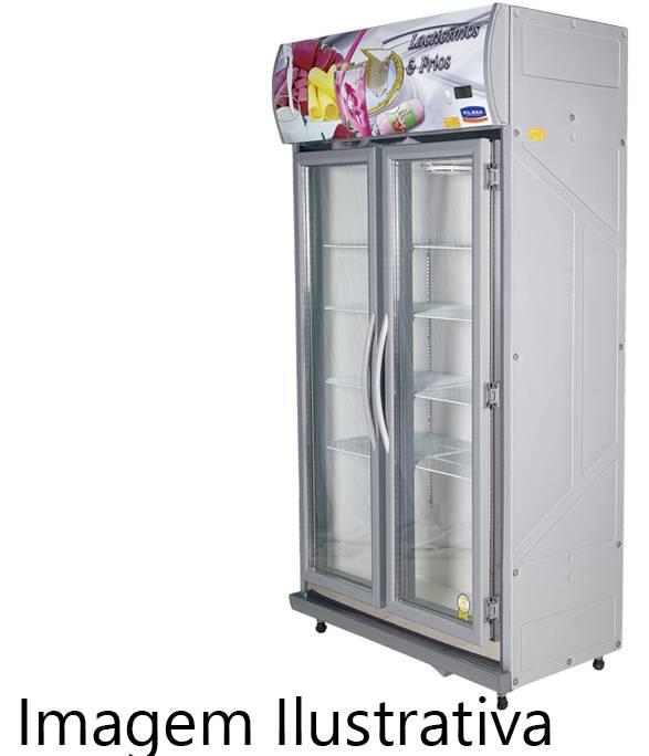 Expositor De Bebidas, Frios E Laticínios Klima 02 Portas - P