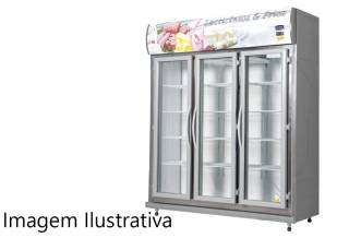 Expositor De Bebidas, Frios E Laticínios Klima 03 Portas - P