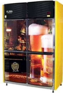 Cervejeira Vertical 4 Portas Bipartida - 220v - Klima