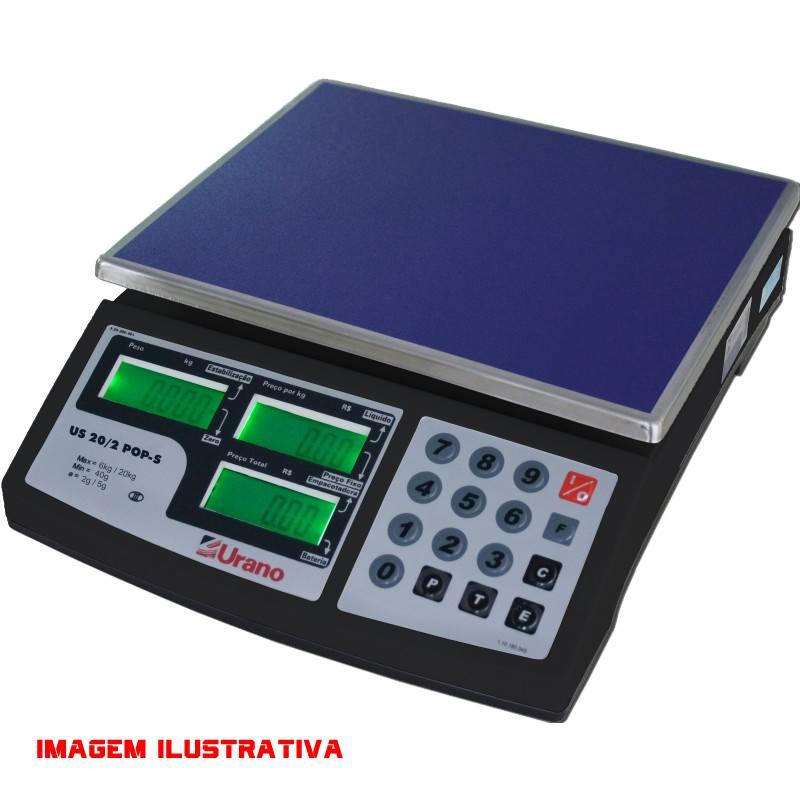 Balança Eletrônica 15KG US-15/5 POP-S sem bateria - Urano