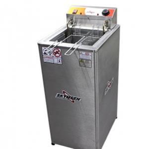 Fritadeira Elétrica água e óleo - Inox FRP-18 de piso - 220V