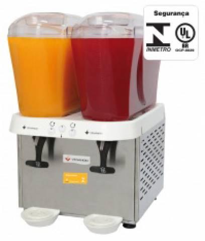 Refresqueira 2 cubas Inox 16 litros - RV216 - 220V - Venânci