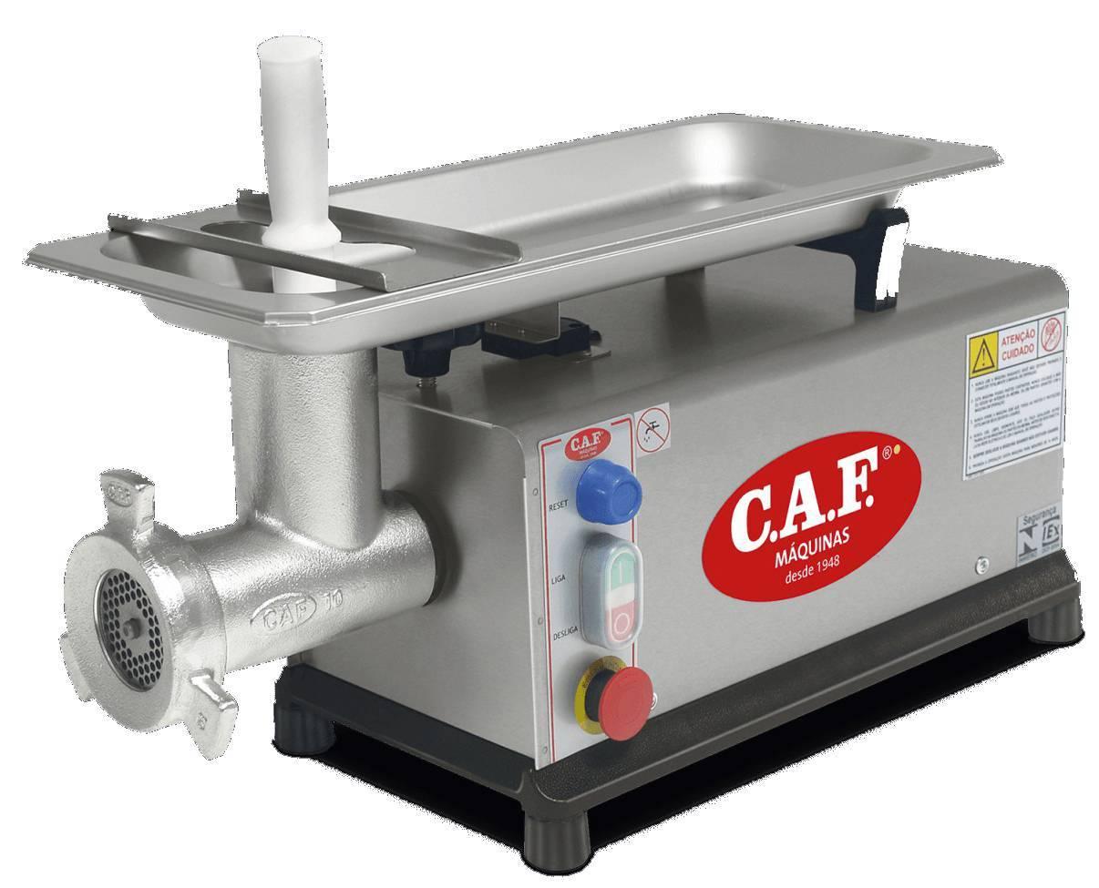 Moedor Picador de carne CAF 10 Inox - Monofásico 127V