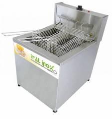 Fritadeira elétrica de mesa água e óleo 18L FAOI 18 Ital Inox - 220V