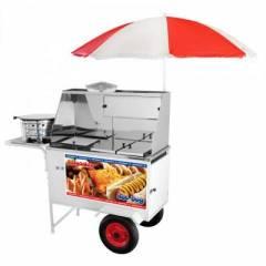Carrinho Combinado Armon CHLSL013 - 3x1 -Hot Dog + Lanches + Salgados