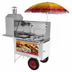 Carrinho Combinado Armon CHLCL012 - 3x1 -Hot Dog + Lanches + Churrasco