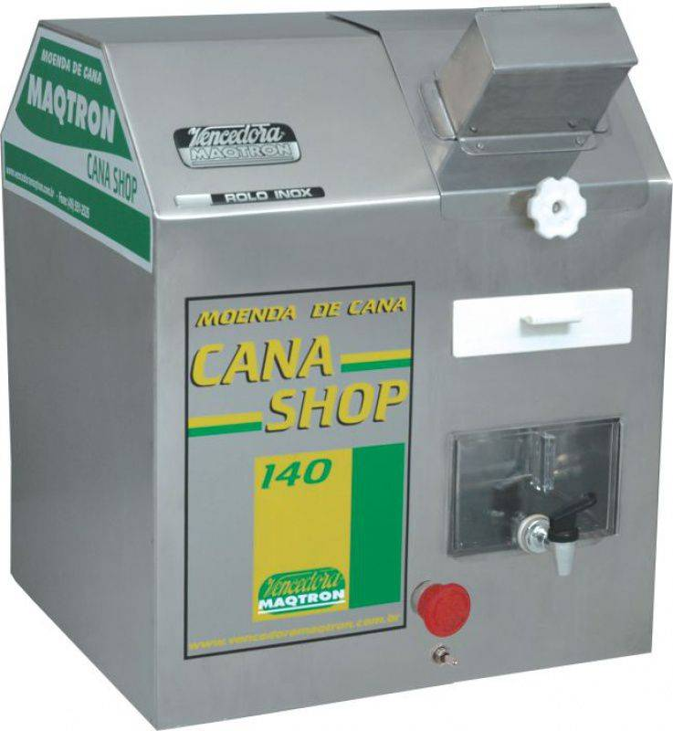 Moedor de cana Cana Shop 140 Elétrica - Maqtron