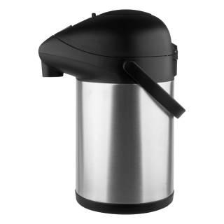 Garrafa Térmica aço-inox pressãoTrix 2,5L