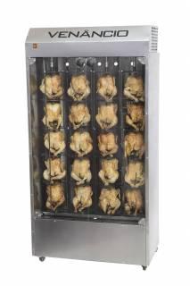 Assador vertical a gás para frangos FFV20 Venâncio