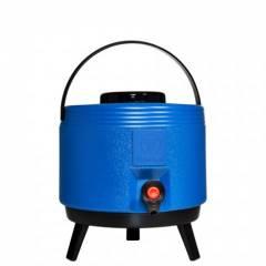 Botijão Térmico com Torneira Maxitermo Azul  6L