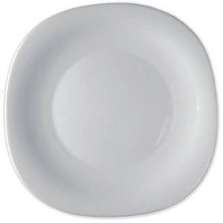 Prato Fundo Vidro Temperado Branco 23cm Parma Bormioli Rocco