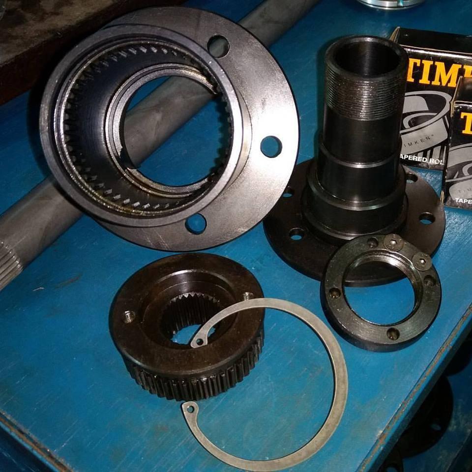 Kit forjado traseiro Troller RF furação original