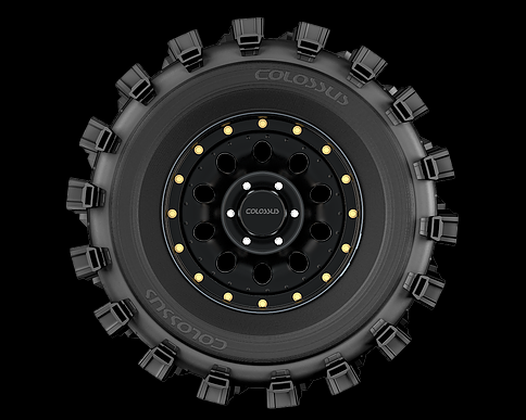 Pneu Colossus Max 285/75r16'