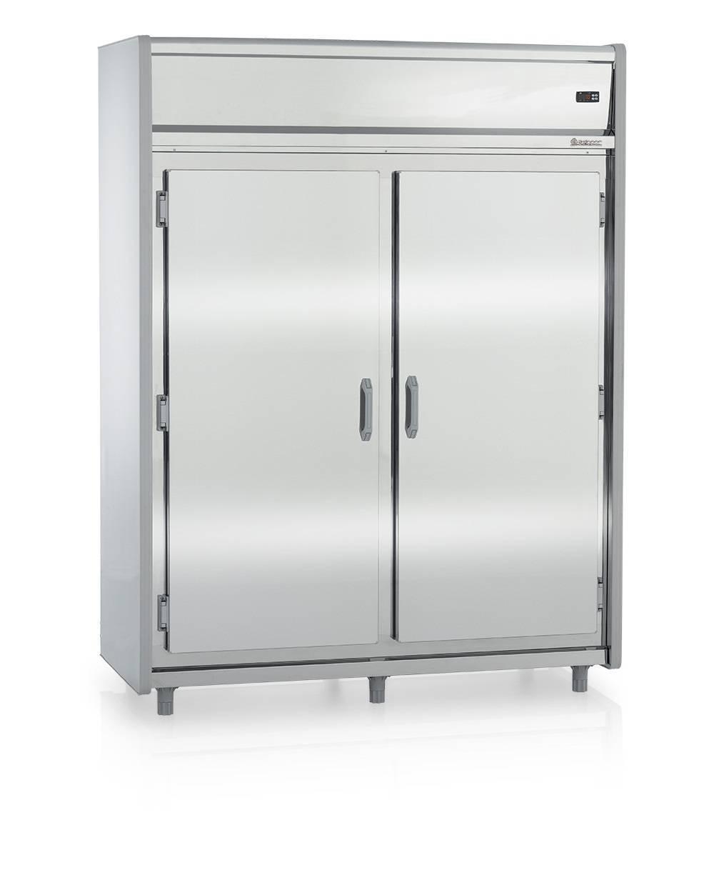Mini Câmara Frigorifica Gelopar Aço inox GMCR1600