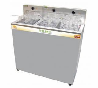 Fritadeira Ital Inox FAOI 36/18 3 cestos Etétrica