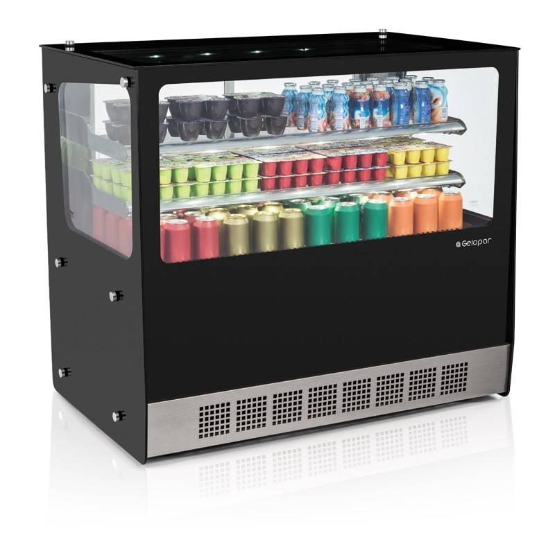 Vitrine Refrigerada Linha Gourmet Elegance Bancada GGEB-110R