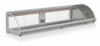 Vitrine Refrigerada de Bancada GVRB-210PR Prata
