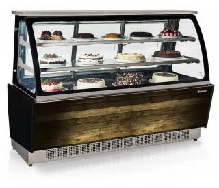 Vitrine Refrigerada - Dupla Função GGSR 180 - Vidro Serigrafia. Linha Gourmet Luxo. | Refrimur