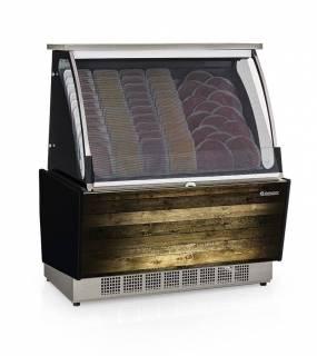 Vitrine Refrigerada Auto Atendimento Prateleira ou Filetado GSRA 1,10. Linha Gourmet Luxo. | Refrimur