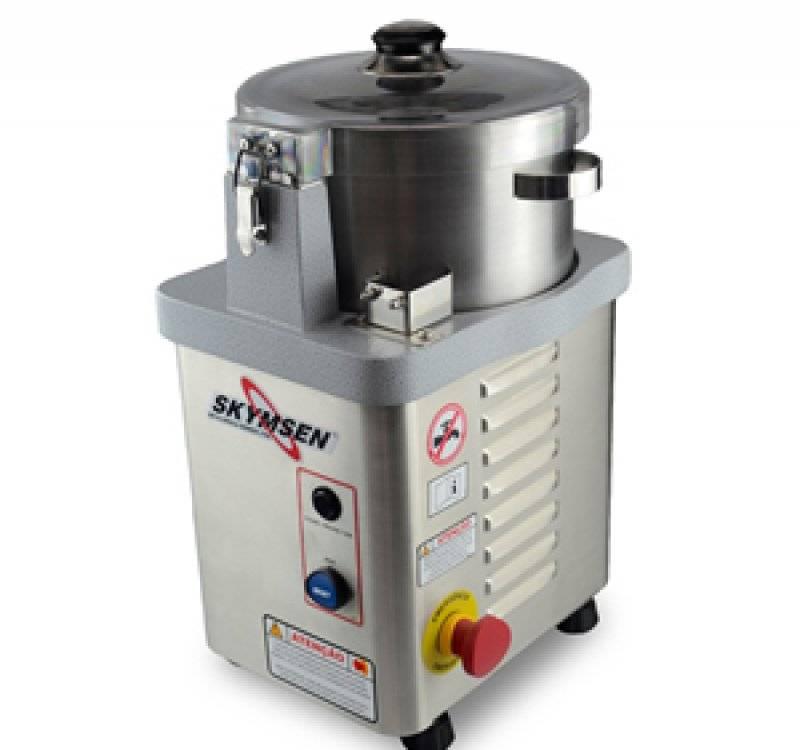 Cutter Industrial Inox Skymsen 4L Motor 0,5CV