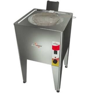 Fritadeira Elétrica Água e Óleo, Inox de Piso Skymsen. | Refrimur
