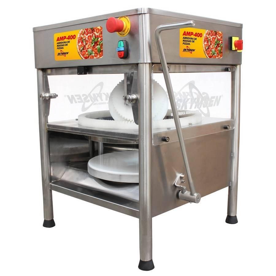 Abridora de Massa De Pizza Skymsen AMP 400