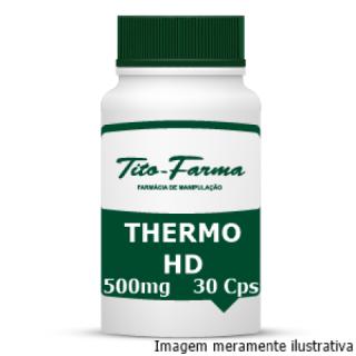 Thermo HD - Aumento da Performance Física e Ação Termogênica (500mg - 30 Cps) | Tito Farma