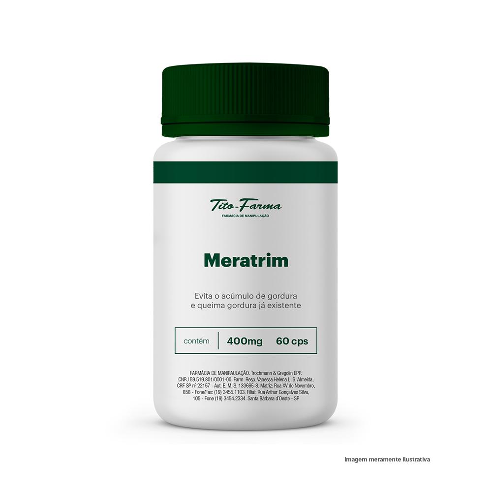 Meratrim - Evita o Acúmulo de Gordura e Queima Gordura Já Existente (400mg - 60 Cps)