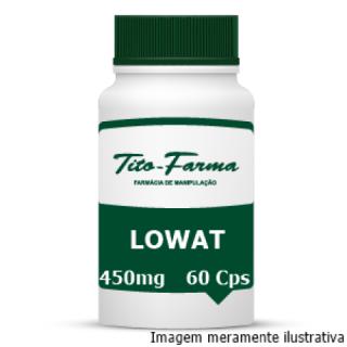 Lowat - Redução de Gordura Corporal e IMC (450mg - 60 Cps) | Tito Farma