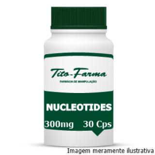Nucleotides - Ação Prebiótica e Fortalecimento da Imunidade (300mg - 30 Cps) | Tito Farma