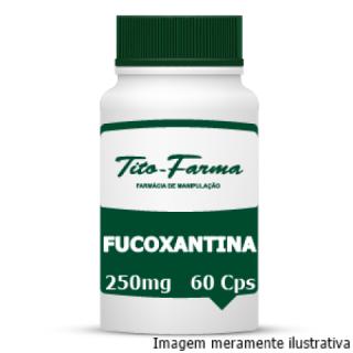 Fucoxantina - Regula o Metabolismo e Combate a Gordura Abdominal (250mg - 60 Cps) | Tito Farma