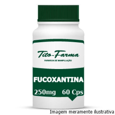 Fucoxantina - Regula o Metabolismo e Combate a Gordura Abdominal (250mg - 60 Cps)