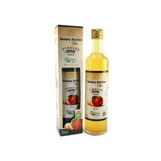 Vinagre de Maçã Orgânico - Saciedade, Melhor Digestão e Prevenção de Diabetes (500mL) | Tito Farma