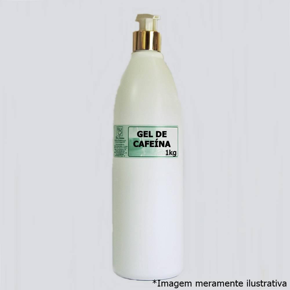 Gel de Cafeína - Para Tratamento de Celulite e Gordura Localizada (5% - 1kg)
