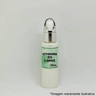 Vitamina D3 - Boa Fonte Para a Saúde Óssea (1.000UI/gt - 30mL) | Tito Farma