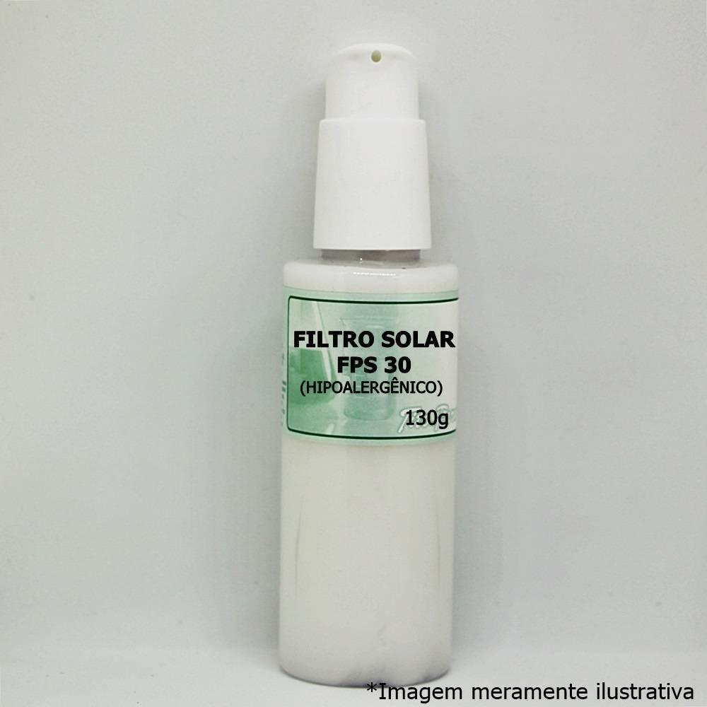Filtro Solar FPS 30 (Hipoalergênico) - Para Todos os Tipos de Pele (130g)