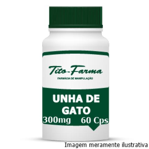 Unha de Gato - Propriedades Anti-inflamatória, Antimutagênica e Imunoestimuladora (300mg - 60 Cps)