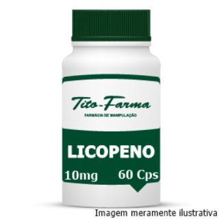 Licopeno - Auxilia a Reverter os Danos Causados pelo Fumo, Poluição e Radiação Solar (10mg - 60 Cps) | Tito Farma