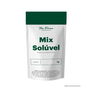 Mix Solúvel Auxiliar no Emagrecimento - 3g | Tito Farma