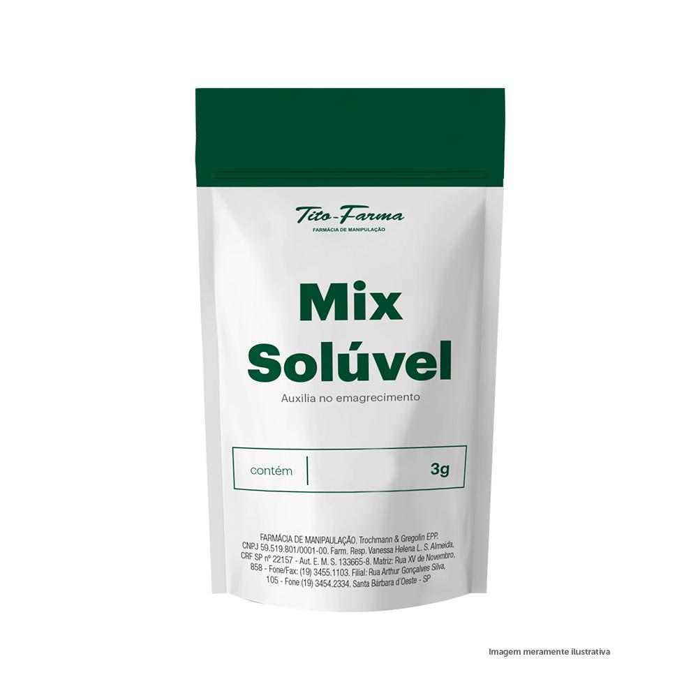 Mix Solúvel Auxiliar no Emagrecimento - 3g