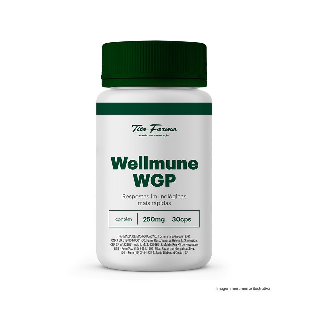 Wellmune WGP - Respostas Imunológicas Mais Rápidas (250mg - 30 Cps)