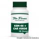 KSM-66 500mg + Chá Verde 100mg - Pré-Treino Energético (30 Doses)