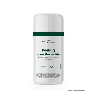 Peeling com Verochic – Secativo para Peles Acneicas e Oleosas (30g) | Tito Farma