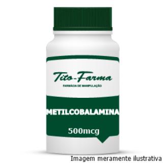 Forma Ativa da Vitamina B12 - Metilcobalamina (500mcg) | Tito Farma